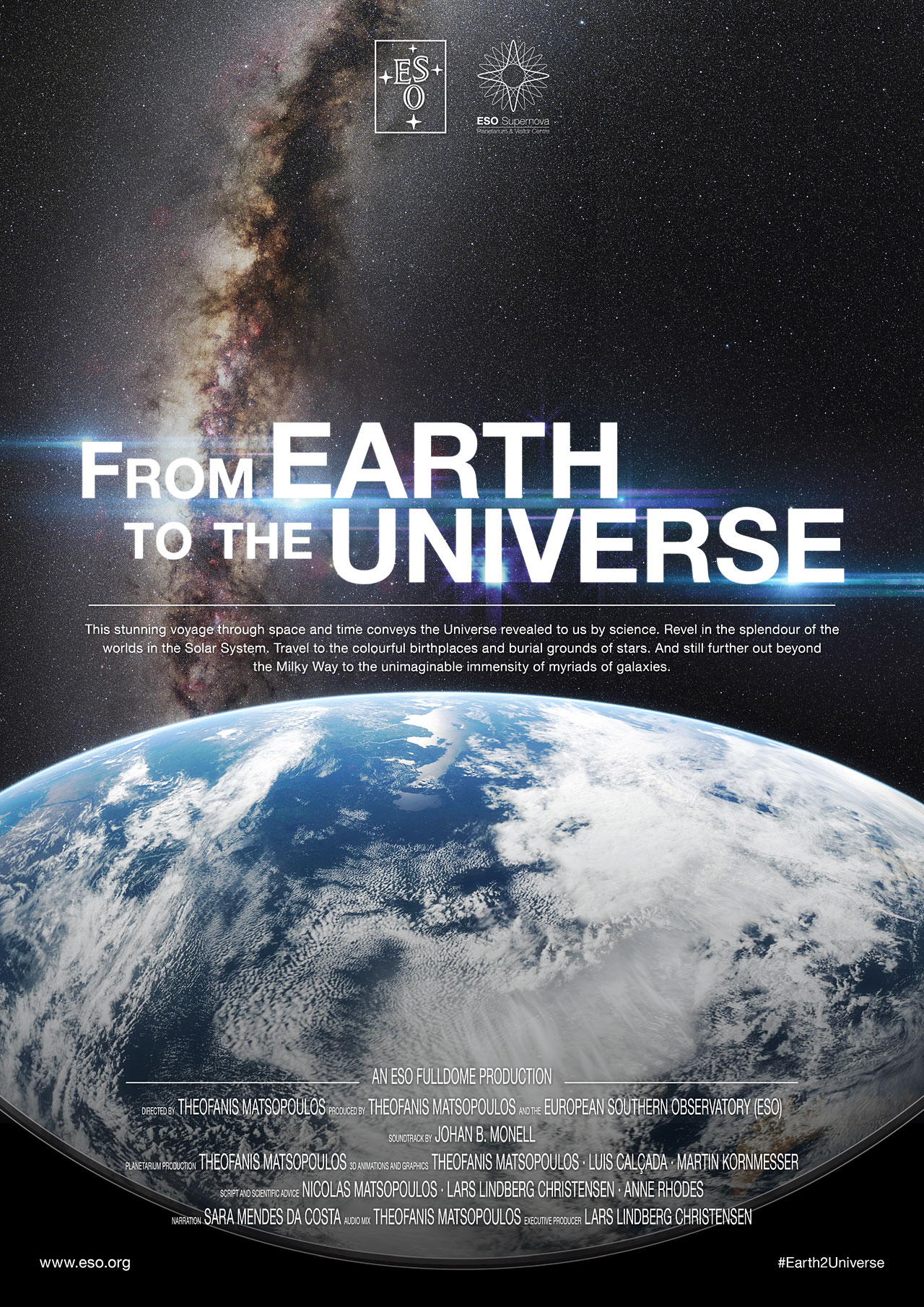 from earth to universe